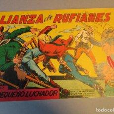 Tebeos: PEQUEÑO LUCHADOR, EL (1960, VALENCIANA) 80 · 3-V-1962 · ALIANZA DE RUFIANES. Lote 251718245