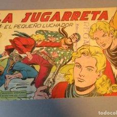 Tebeos: PEQUEÑO LUCHADOR, EL (1960, VALENCIANA) 82 · 17-V-1962 · LA JUGARRETA. Lote 251764330