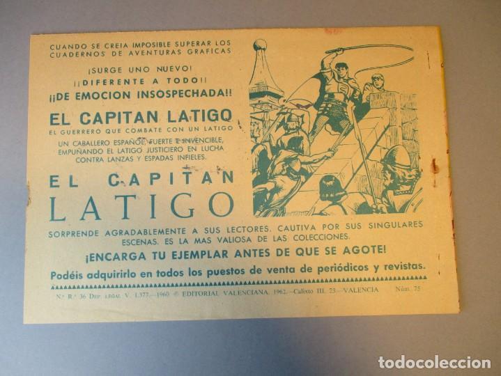 Tebeos: PEQUEÑO LUCHADOR, EL (1960, VALENCIANA) 75 · 29-III-1962 · LA DESTRUCCIÓN DEL POBLADO - Foto 3 - 251764835