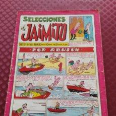 Tebeos: SELECCIONES DE JAIMITO AÑO IV Nº 36 1961 33 PAGINAS CON PEREDA BARCELONA EN GALERIA DE ASES. Lote 252063800