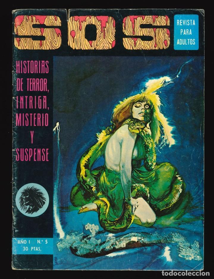 SOS (1ª ÉPOCA) - VALENCIANA / NÚMERO 5 (Tebeos y Comics - Valenciana - S.O.S)