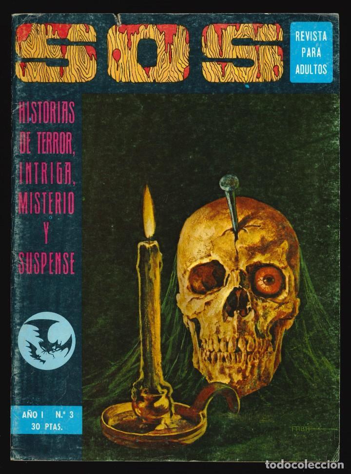 SOS (1ª ÉPOCA) - VALENCIANA / NÚMERO 3 (Tebeos y Comics - Valenciana - S.O.S)