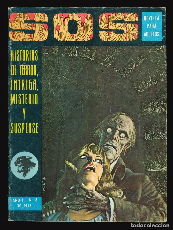 SOS (1ª ÉPOCA) - VALENCIANA / NÚMERO 8 (Tebeos y Comics - Valenciana - S.O.S)