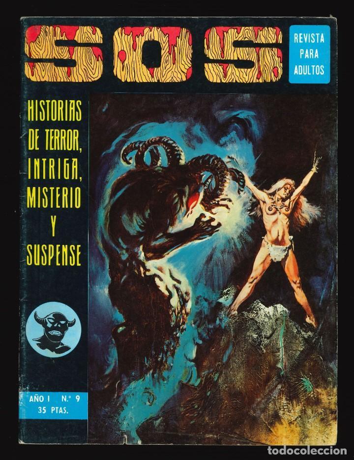 SOS (1ª ÉPOCA) - VALENCIANA / NÚMERO 9 (Tebeos y Comics - Valenciana - S.O.S)
