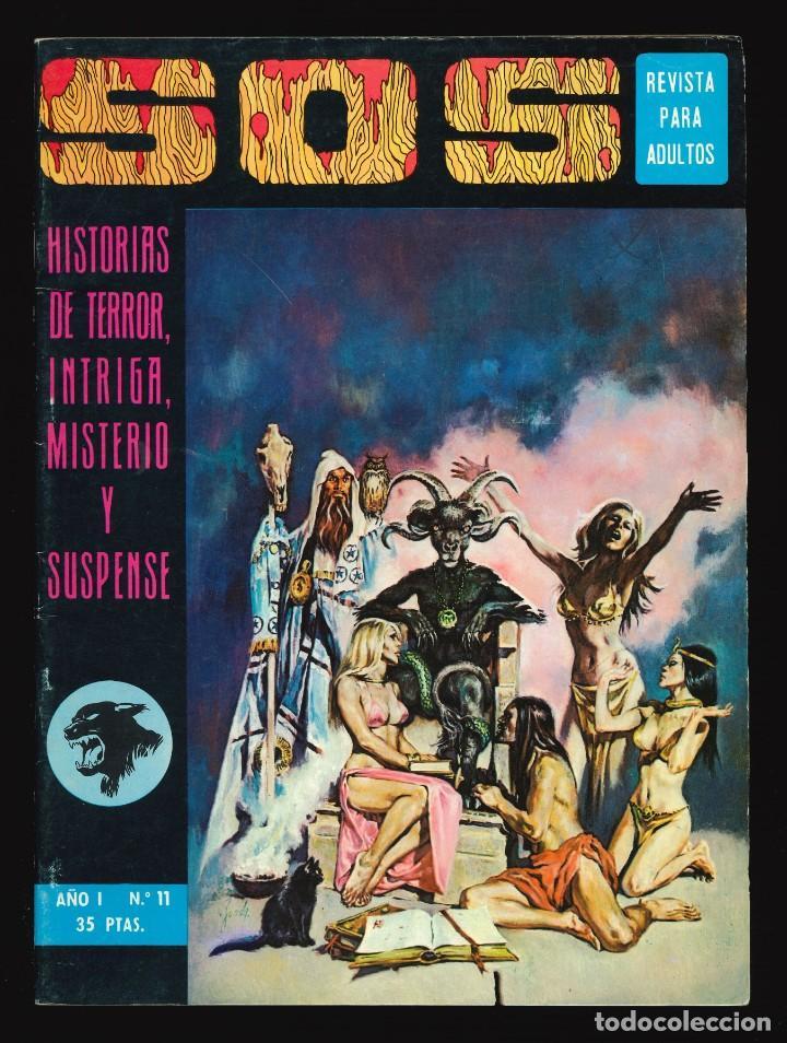 SOS (1ª ÉPOCA) - VALENCIANA / NÚMERO 11 (Tebeos y Comics - Valenciana - S.O.S)