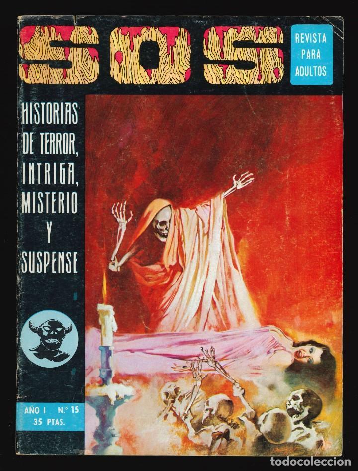SOS (1ª ÉPOCA) - VALENCIANA / NÚMERO 15 (Tebeos y Comics - Valenciana - S.O.S)