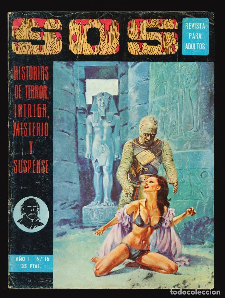 SOS (1ª ÉPOCA) - VALENCIANA / NÚMERO 16 (Tebeos y Comics - Valenciana - S.O.S)