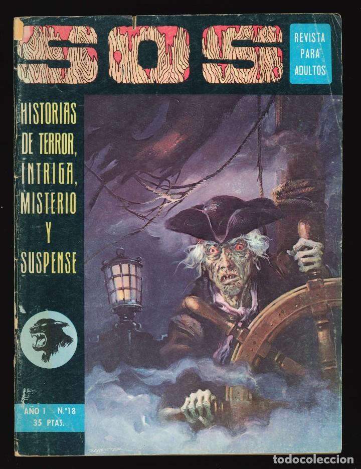 SOS (1ª ÉPOCA) - VALENCIANA / NÚMERO 18 (Tebeos y Comics - Valenciana - S.O.S)