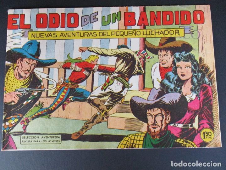 PEQUEÑO LUCHADOR, EL (1960, VALENCIANA) 48 · 21-IX-1961 · EL ODIO DE UN BANDIDO (Tebeos y Comics - Valenciana - Pequeño Luchador)