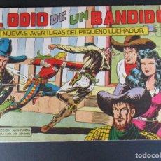 Tebeos: PEQUEÑO LUCHADOR, EL (1960, VALENCIANA) 48 · 21-IX-1961 · EL ODIO DE UN BANDIDO. Lote 252578965