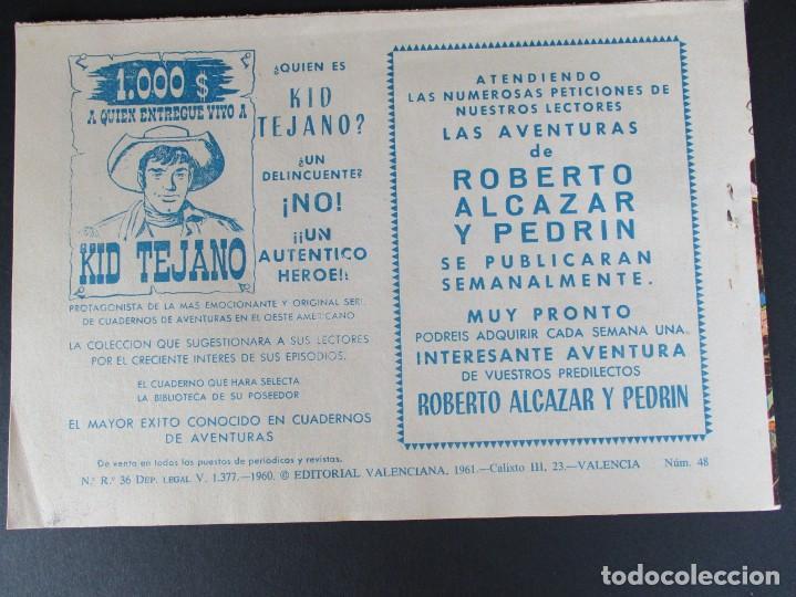 Tebeos: PEQUEÑO LUCHADOR, EL (1960, VALENCIANA) 48 · 21-IX-1961 · EL ODIO DE UN BANDIDO - Foto 3 - 252578965