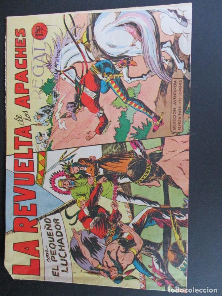 PEQUEÑO LUCHADOR, EL (1960, VALENCIANA) 49 · 28-IX-1961 · LA REVUELTA DE LOS APACHES (Tebeos y Comics - Valenciana - Pequeño Luchador)