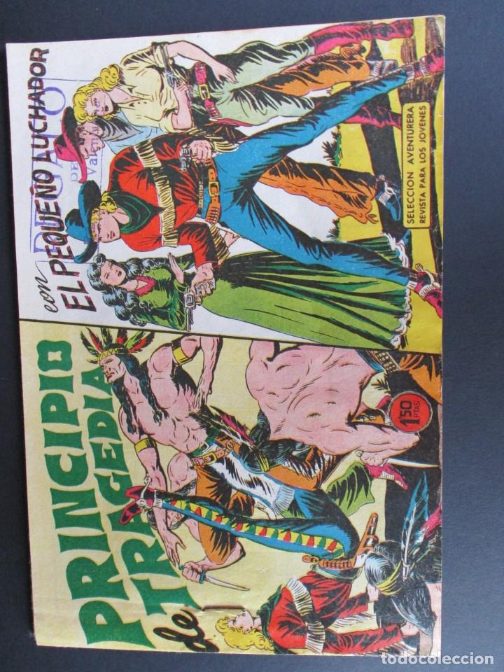 PEQUEÑO LUCHADOR, EL (1960, VALENCIANA) 52 · 19-X-1961 · PRINCIPIO DE TRAGEDIA (Tebeos y Comics - Valenciana - Pequeño Luchador)
