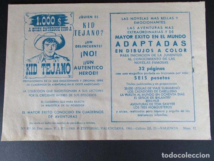Tebeos: PEQUEÑO LUCHADOR, EL (1960, VALENCIANA) 52 · 19-X-1961 · PRINCIPIO DE TRAGEDIA - Foto 3 - 252579900