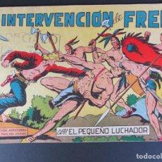 Tebeos: PEQUEÑO LUCHADOR, EL (1960, VALENCIANA) 61 · 21-XII-1961 · LA INTERVENCIÓN DE FRED. Lote 252655555