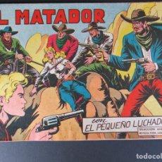 Tebeos: PEQUEÑO LUCHADOR, EL (1960, VALENCIANA) 65 · 18-I-1962 · EL MATADOR. Lote 252664800