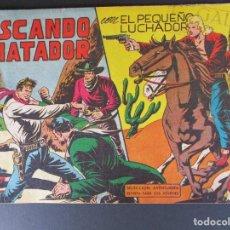"""Tebeos: PEQUEÑO LUCHADOR, EL (1960, VALENCIANA) 66 · 25-I-1962 · BUSCANDO A """"MATADOR"""". Lote 252676360"""