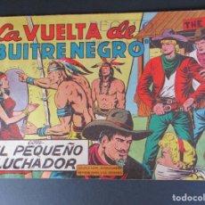 """Tebeos: PEQUEÑO LUCHADOR, EL (1960, VALENCIANA) 68 · 8-II-1962 · LA VUELTA DE """"BUITRE NEGRO"""". Lote 252679030"""