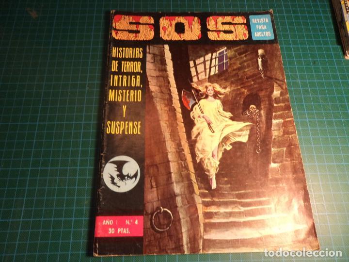 S.O.S. N° 4. VALENCIANA 1° EPOCA. (M-2). (Tebeos y Comics - Valenciana - S.O.S)