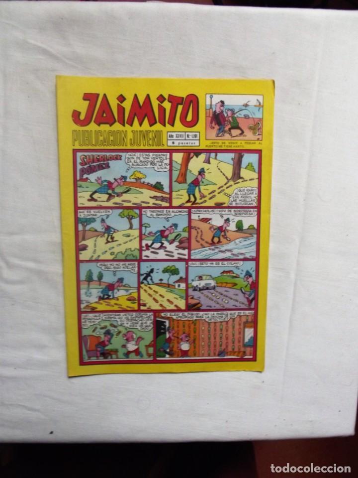 JAIMITO Nº 1191 SHERLOCK POMEZ (Tebeos y Comics - Valenciana - Jaimito)
