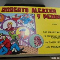 Tebeos: ROBERTO ALCAZAR Y PEDRIN -ED. VALENCIANA 1983 - 6 TOMOS (24 NUMEROS) EDICION COMPLETA - ENCUADERNADO. Lote 253295220