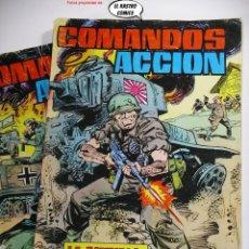 Tebeos: COMANDOS EN ACCIÓN, COLECCIÓN COMPLETA, ED. VALENCIANA AÑO 1979, MUY DIFICIL. Lote 253527790