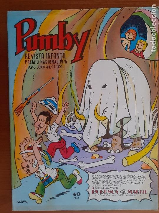 IMPECABLE! PUMBY Nº 1100. EDIVAL 1979. EXCELENTE ESTADO (Tebeos y Comics - Valenciana - Pumby)