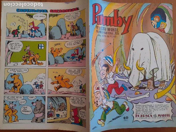 Tebeos: Impecable! Pumby Nº 1100. Edival 1979. Excelente estado - Foto 2 - 253532785
