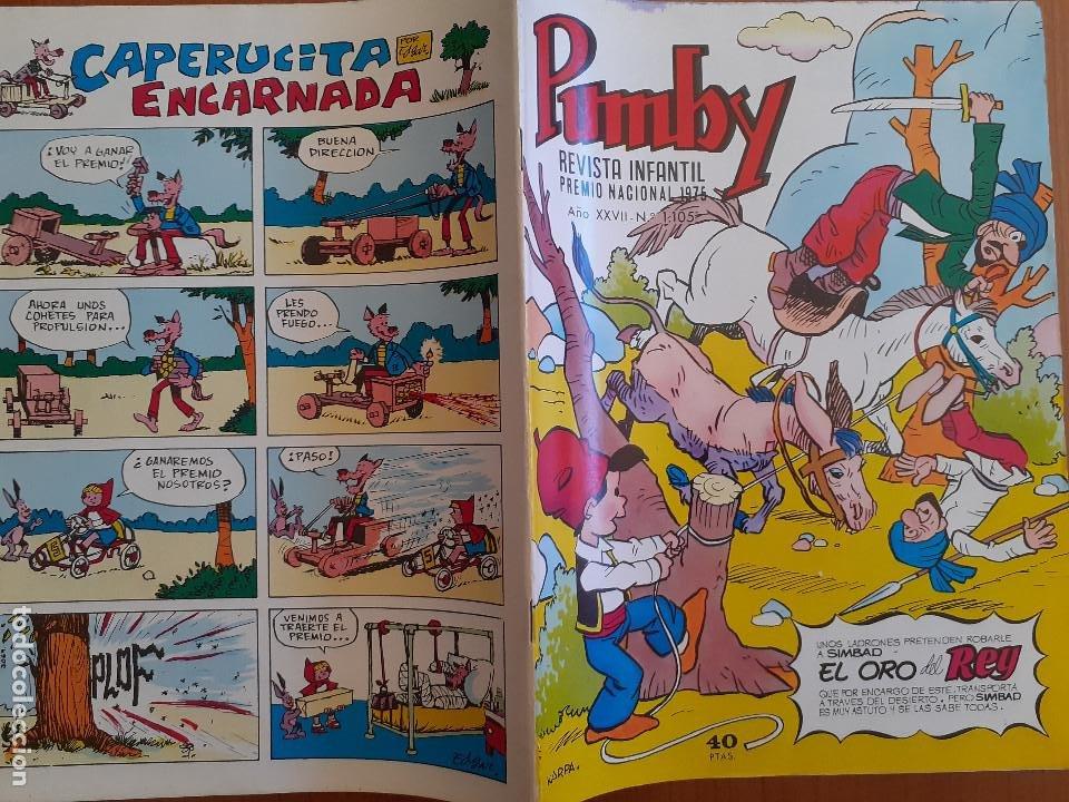 Tebeos: Impecable! Pumby Nº 1105. Valenciana 1980. Excelente estado - Foto 2 - 253533295