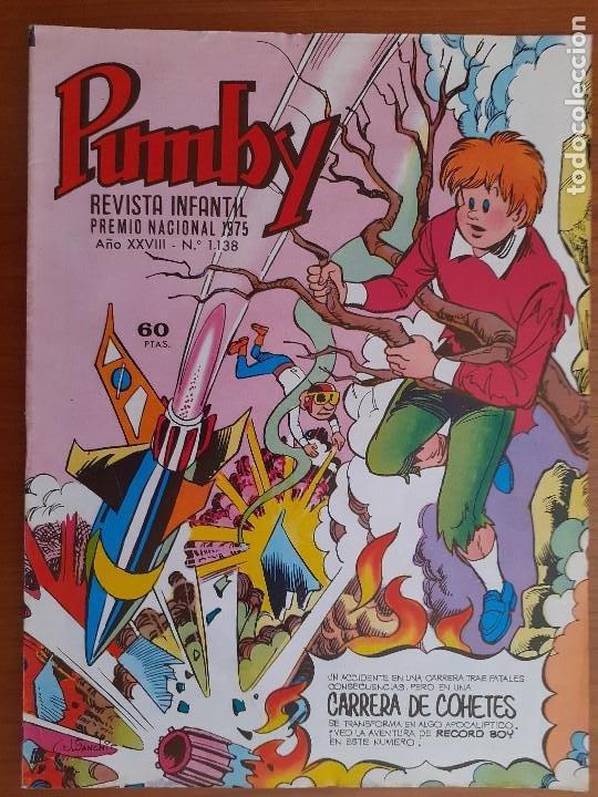 IMPECABLE! PUMBY Nº 1138. VALENCIANA 1982. EXCELENTE ESTADO (Tebeos y Comics - Valenciana - Pumby)
