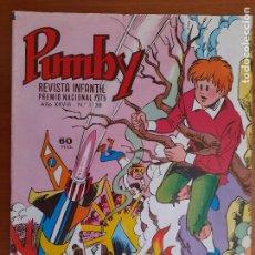 Tebeos: IMPECABLE! PUMBY Nº 1138. VALENCIANA 1982. EXCELENTE ESTADO. Lote 253533550