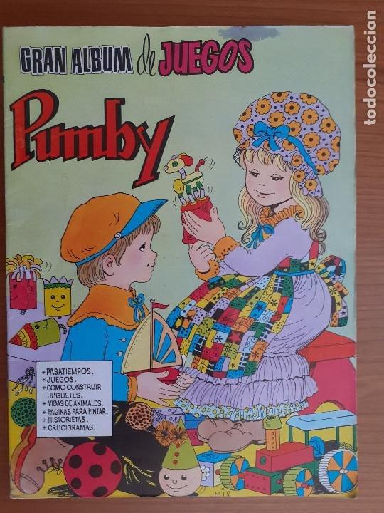 IMPECABLE! GRAN ALBUM DE JUEGOS PUMBY Nº 1. VALENCIANA 1980. EXCELENTE ESTADO (Tebeos y Comics - Valenciana - Pumby)