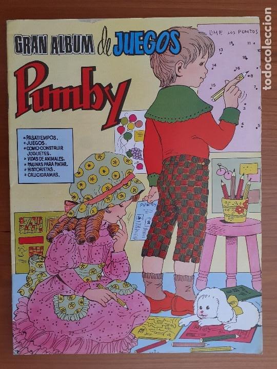 IMPECABLE! GRAN ALBUM DE JUEGOS PUMBY Nº 3. VALENCIANA 1980. EXCELENTE ESTADO (Tebeos y Comics - Valenciana - Pumby)