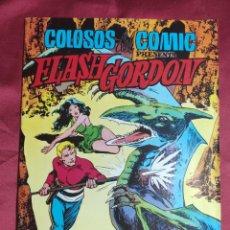 Tebeos: FLASH GORDON. COLOSOS DEL CÓMIC. Nº 1. EL PLANETA MONGO. VALENCIANA. Lote 253582175