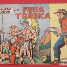 Tebeos: COLECCIÓN EL PEQUEÑO LUCHADOR FUGA TRAGICA Nº 13 VALENCIANA 1960 ORIGINAL. Lote 253646110