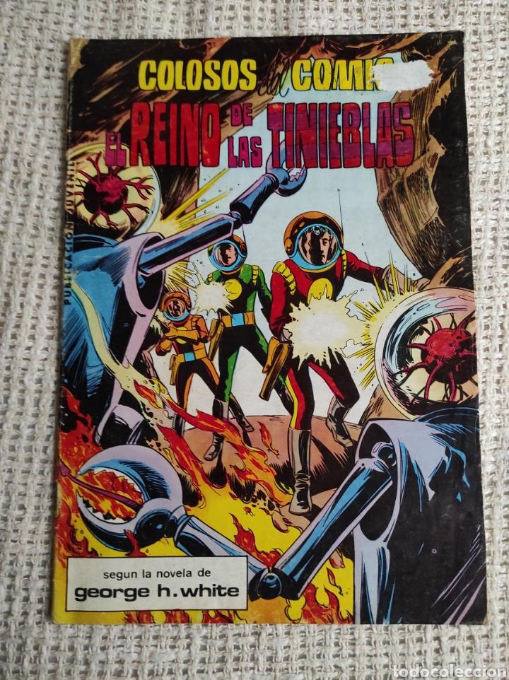 COLOSOS DEL COMIC Nº 8 EL REINO DE LAS TINIEBLAS (Tebeos y Comics - Valenciana - Colosos del Comic)