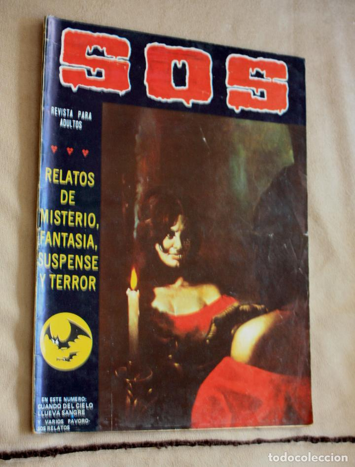 SOS Nº 10 , SEGUNDA EPOCA , (ED. VALENCIANA ). (Tebeos y Comics - Valenciana - S.O.S)