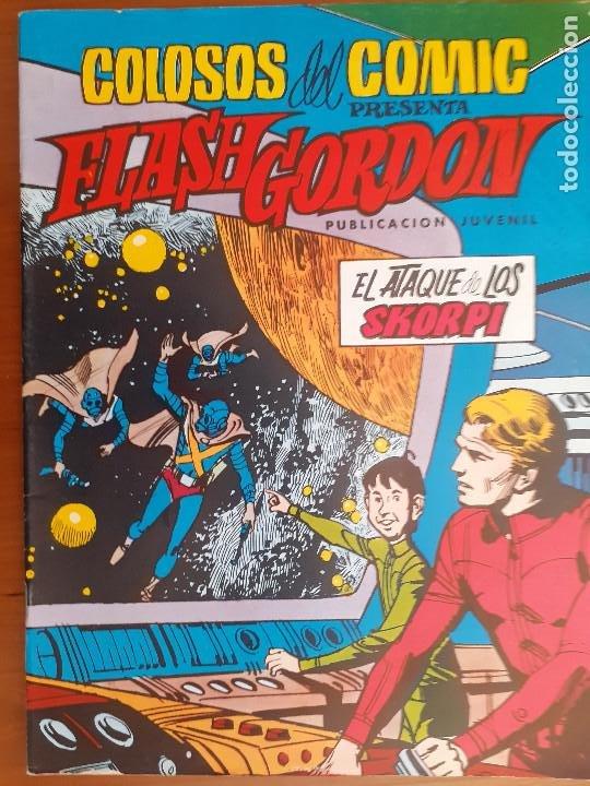 COLOSOS DEL COMIC. FLASH GORDON Nº 14. EL ATAQUE DE LOS SKORPI. VALENCIANA 1980. BUENO (Tebeos y Comics - Valenciana - Colosos del Comic)