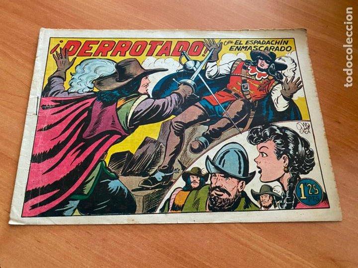 EL ESPADACHIN ENMASCARADO Nº 11 DERROTADO (VALENCIANA) ORIGINAL (COIB6) (Tebeos y Comics - Valenciana - Espadachín Enmascarado)