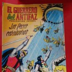 Tebeos: EL GUERRERO DEL ANTIFAZ. LOS PECES CARNIVOROS (NUMERO 301). Lote 254209770