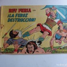Tebeos: REY FURIA Nº8 VALENCIANA ORIGINAL. Lote 254221075