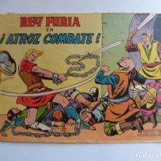 Tebeos: REY FURIA Nº22 VALENCIANA ORIGINAL. Lote 254223510