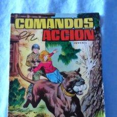 Tebeos: COMANDOS EN ACCION Nº 27 EDITORIAL VALENCIANA. Lote 254231390