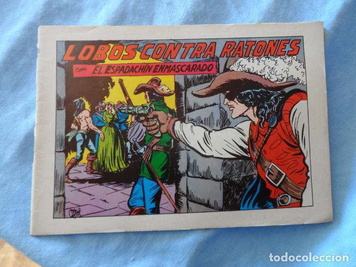 EL ESPADACHIN ENMASCARADO Nº 64 EDITORIAL VALENCIANA 1981 (Tebeos y Comics - Valenciana - Espadachín Enmascarado)