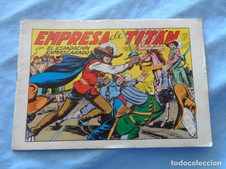 EL ESPADACHIN ENMASCARADO Nº 21 EDICION 1981 EDITORIAL VALENCIANA (Tebeos y Comics - Valenciana - Espadachín Enmascarado)