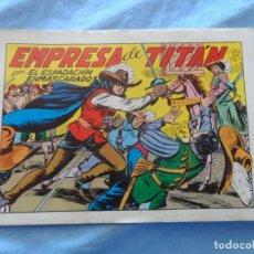 Tebeos: EL ESPADACHIN ENMASCARADO Nº 21 EDICION 1981 EDITORIAL VALENCIANA. Lote 254256335