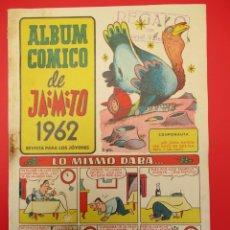 Tebeos: JAIMITO (1955, VALENCIANA) -ALBUM COMICO- 3 · XII-1961 · ALBUM COMICO DE JAIMITO 1962. LO MISMO DAB. Lote 254273945