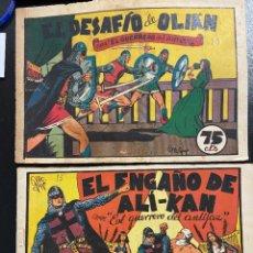 Tebeos: EL GUERRERO DEL ANTIFAZ Nº 10 Y 15 CALIXTO 0,75 RESERVADOS. Lote 254422795