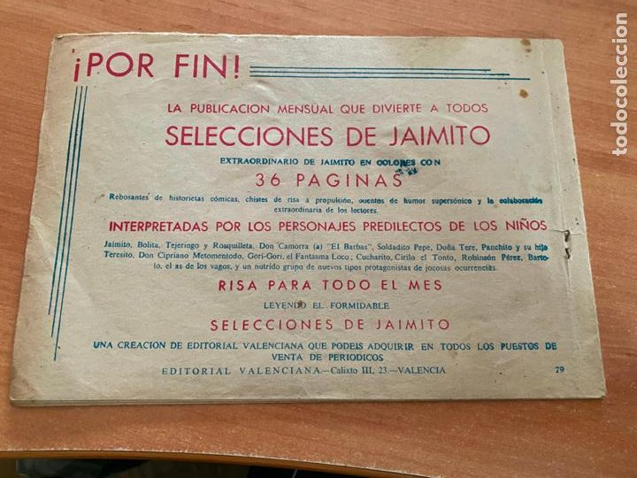 Tebeos: ROBERTO ALCAZAR Y PEDRIN Nº 79 (VALENCIANA) ORIGINAL (COIB9) - Foto 2 - 254522470
