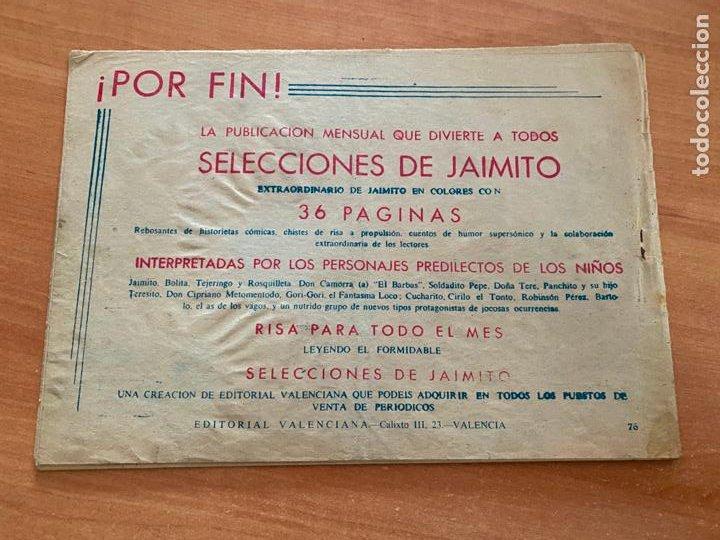 Tebeos: ROBERTO ALCAZAR Y PEDRIN Nº 76 (VALENCIANA) ORIGINAL (COIB9) - Foto 2 - 254522835
